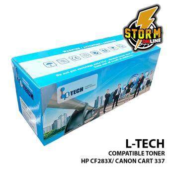 L-TECH COMPATIBLE TONER CATRIDGE HP CF283X/ CANON 337