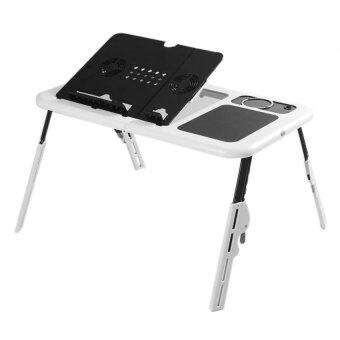LD09 Portable Foldable Laptop Desk With Cooling Fan System