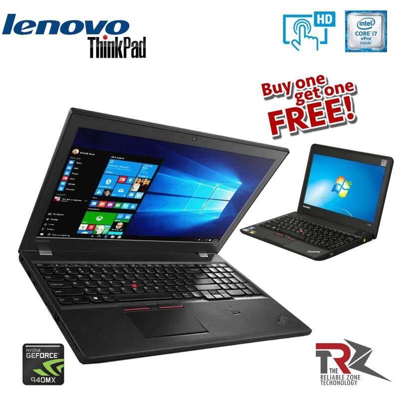 (BUY 1 FREE 1) LENOVO THINKPAD T560 - 15.6- Core i7 6600U - 32 GB RAM - 512 GB SSD - NVIDIA GEFORCE 940MX  (TOUCH SCREEN) Malaysia