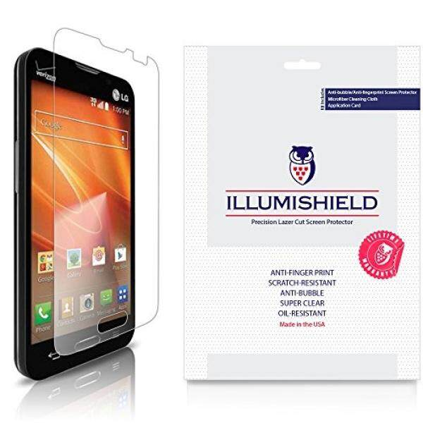LG Optimus Exceed 2 Screen Protector [3-Pack], iLLumiShield - Japanese Ultra Clear HD Film with Anti-Bubble and Anti-Fingerprint Invisible Shield - intl