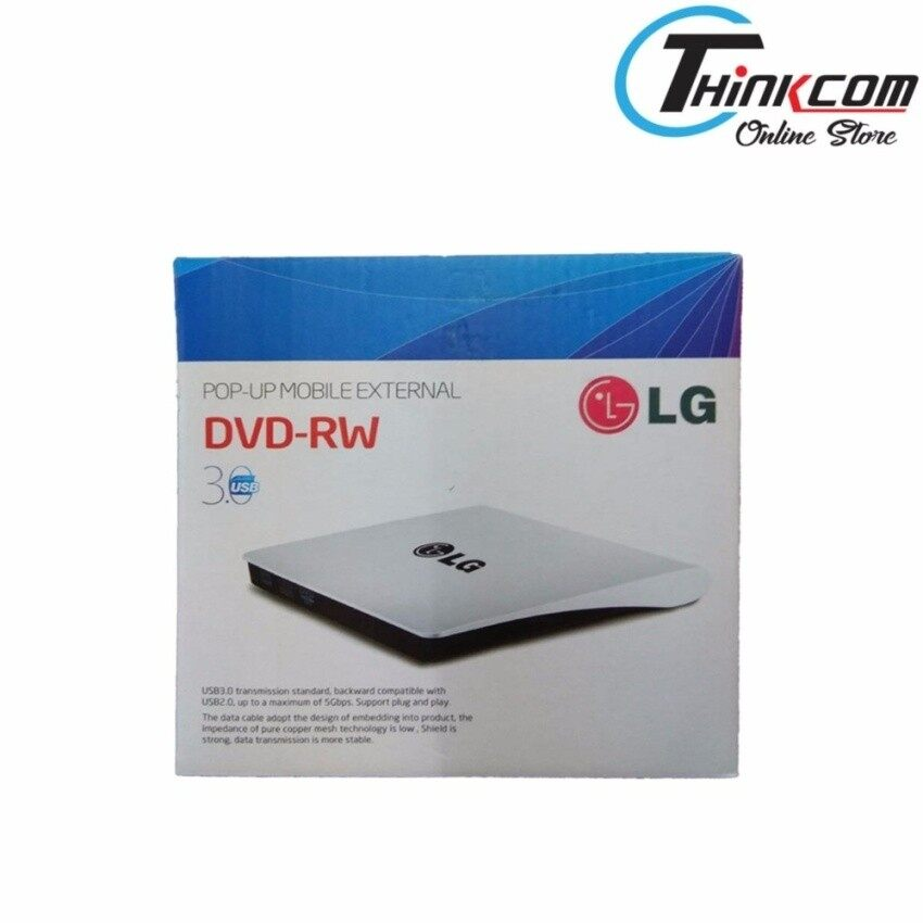 LG POP-UP MOBILE EXTERNAL DVD-RW (USB 3.0 EXTERNAL ODD) - intl