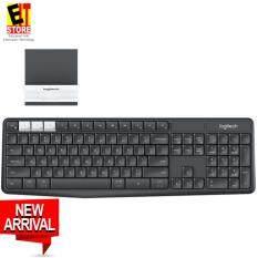 Logitech K375s Multi-Device Wireless Keyboard and Stand Combo Malaysia