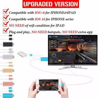 MHL HDMI Cable For Apple Iphone 6/5s/5/7/6s/Plus Ipad Lighting To HDMI Cable Adapter HDTV TV Adapter HDMI Connector Plug & Play