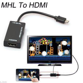 Micro USB 2.0 MHL To 1080P HDMI Adapter Female HDMI HDTV AdapterCable For HTC HUAWEI Sony
