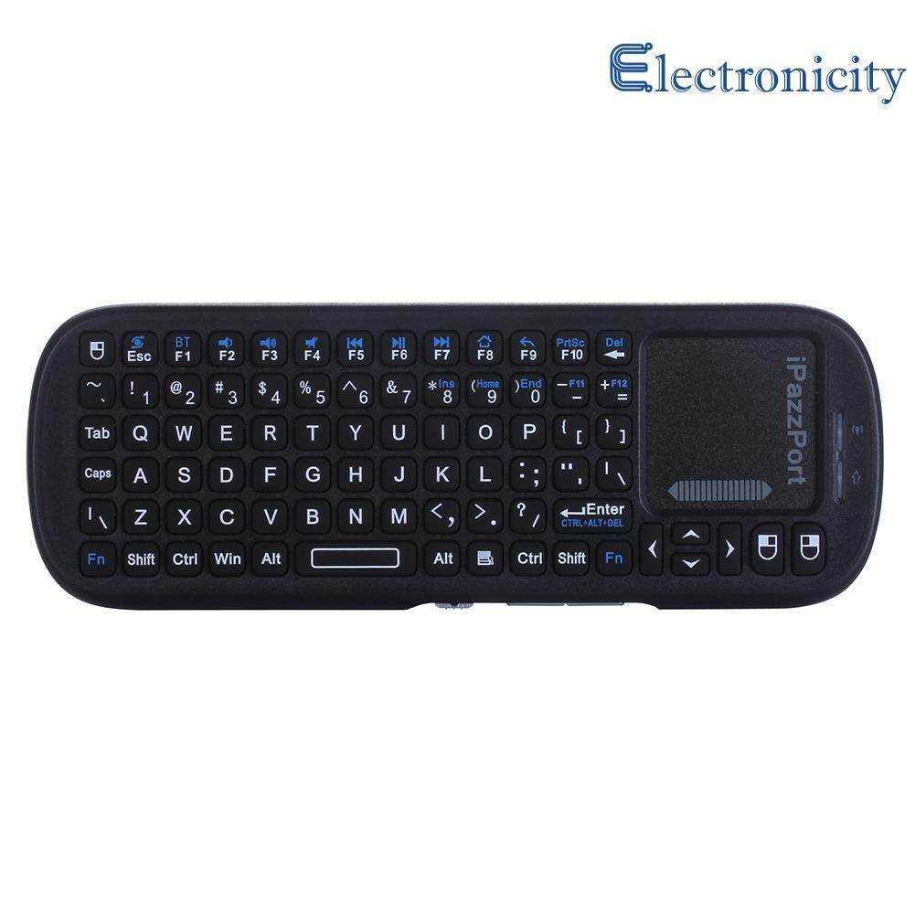 Mini 2.4G Bluetooth Wireless Keyboard Fly Air Mouse w/ Touchpad for TV Box - intl