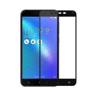 MOCOLO Silk Print Complete Covered Tempered Glass Screen Protectorfor Asus Zenfone 3 Max ZC553KL - Black