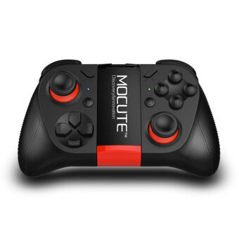 MOCUTE-050 Bluetooth Game Controller Gamepad Joystick Android/IOS Built-in Phone Holder