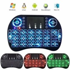 Modeo Mini 2.4Ghz Wireless Touchpad Keyboard With Mouse For Pc, Pad, Xbox 360, Ps3, Google Android Tv Box, Htpc, Iptv Malaysia