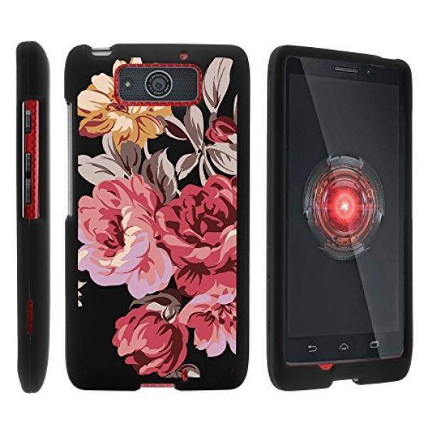 Motorola DROID Ultra Case, Slim Fit Snap On Cover with Unique, Customized Design for Motorola DROID MAXX XT1080 from MINITURTLE - Autumn Flowers - intl