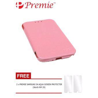 MOZ Cover Flip Case for Samsung Galaxy S4 **Free x2 ScreenProtector Worth RM29**(Pink)