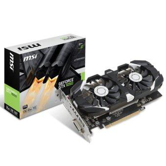 MSI NVIDIA Geforce GTX1050 2GT OC Twin Fan DDR5 Graphics Card