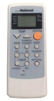 NATIONAL AIR CONDITIONER REMOTE CONTROL KL-2000