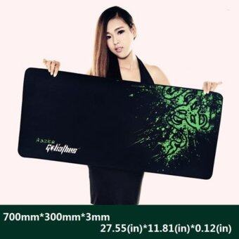 New Rubber Razer Goliathus Mantis Speed Game Mouse Pad Mat Large XL Size 700*300*3MM