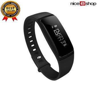 niceEshop Smart Band Blood Pressure Watch V07 Smart Bracelet Watch Heart Rate Monitor SmartBand Wireless Fitness For Android IOS Phone(Black)