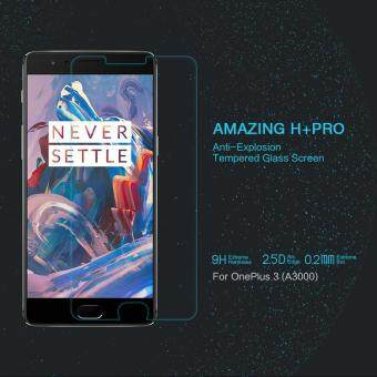 NILLKIN Amazing H+PRO for OnePlus 3 Tempered Glass Screen ProtectorNanometer Anti-Explosion