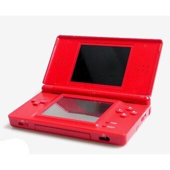 NINTENDO DS LITE RED FULL GAMES (REFURBISH MODEL) + CHARGER + BAG