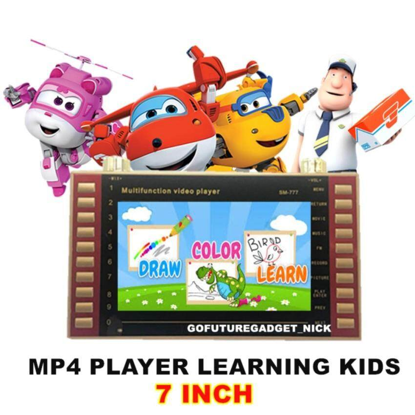 OEM SM-777 MP4 Player 7 Inch Kid Learning with 16GB Memory Card (Deluxe Version For Kids)