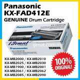 Panasonic 412E / KX-FAD412E / KXFAD412 Genuine DRUM Catridge For Panasonic KX-MB2000 / KX-MB2010 / KX-MB2025 / KX-MB2030 / KX-MB1900 / KX-MB2001 / KX-MB2061 / KX-MB2062 / KX-MB2085 / KX-MB2090 Printer (Drum Only)