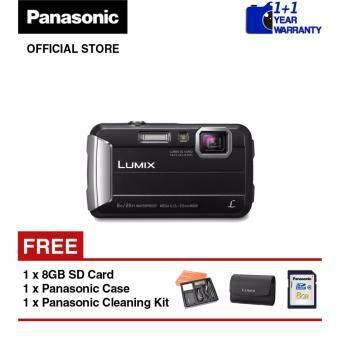 Panasonic Lumix DMC-FT30 Waterproof Digital Camera (Black)