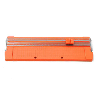 Paper Cutting Machine for A4 Manual Paper Trimmer Cutter BladesHandmade Tool (Orange)