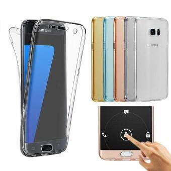 PETREL 360? Full Body Protect Soft Silicone Case Front + Back Coverfor Samsung Galaxy S6 edge Plus