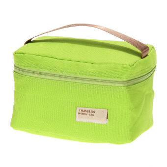Portable Insulated Thermal Cooler Bento Lunch Box TotePicnic(Gleen)