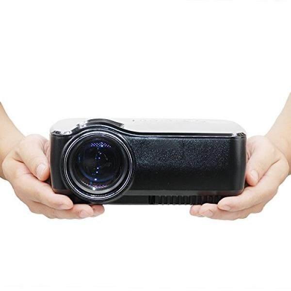 Proyektor, 1200 Lumens LED Proyektor Video, Android OS, Mendukung 1080 P dengan HDMI, Multimedia Overhead TV Home Theater, Film HD LCD Digital Proyektor-Intl