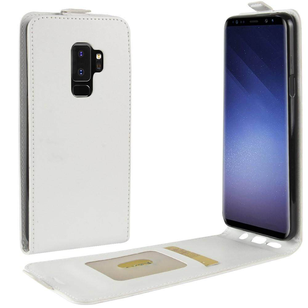PU Leather Flip Cover Case for Samsung Galaxy S9 Plus (Black) - intl