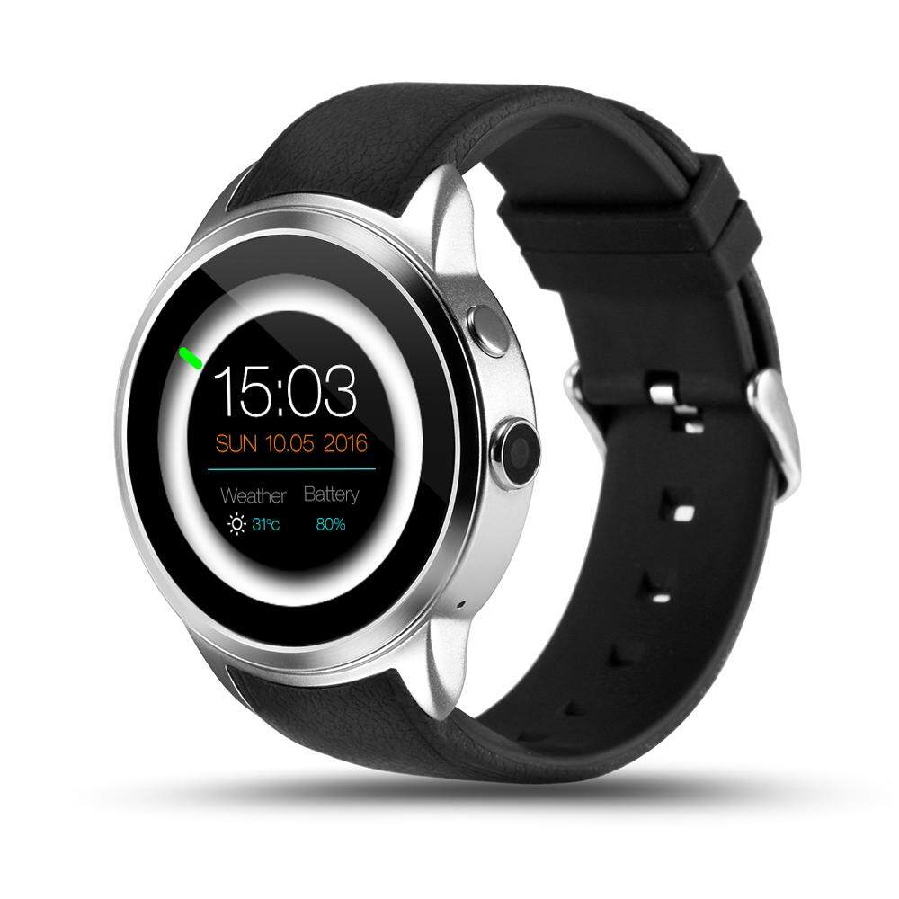 PYiALCY X200 Android 5.1 Heart Rate Smart Watch MTK6580 Support 3G WIFI GPS Nano SIM card Smartwatch with 2.0 Camera Wristwatch - intl