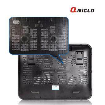 sell qniglo 2 fan 12 14 inch laptop cooling pad, best