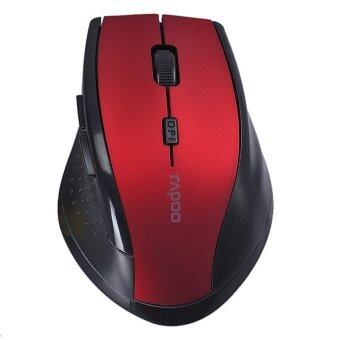RAPOO 2.4GHz Wireless Optical Gaming Mouse Mice (Red)