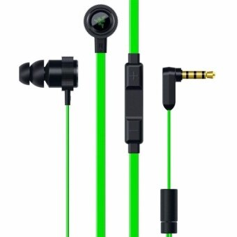 Razer Pro V2 Earphones With Microphone and Volume Controls Headphones In-Ear Earbuds for Smart phone Gaming Headset