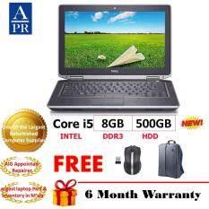 (REFURBISHED) Dell E6420 Laptop Notebook Intel Core i5 2430 2.4Ghz 8GB 500GB WIN7 Pro Malaysia