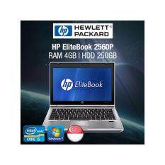 Refurbished HP EliteBook 2560p 12.5in Laptop - i5 / 4GB RAM / 250GB HDD / Eng KB / Windows 7 / 1mth Warranty Malaysia