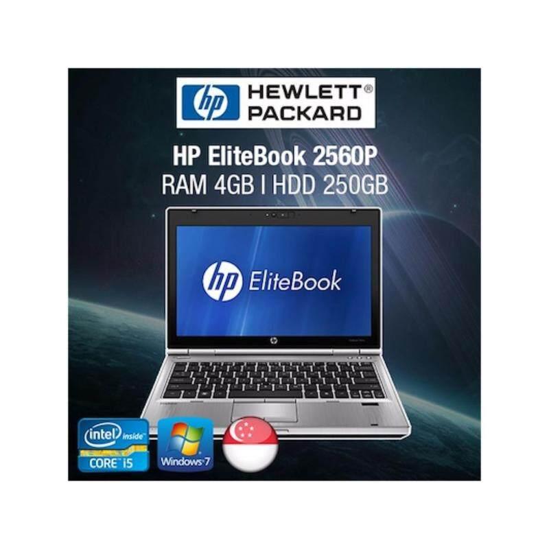 Refurbished HP EliteBook 2560p 12.5in Laptop - i5 / 4GB RAM / 250GB HDD / Eng KB / Windows 7 / 1mth Warranty Malaysia