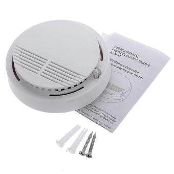 RHS Wireless Cordless Smoke Detector Home Security Fire AlarmSensor System Battery