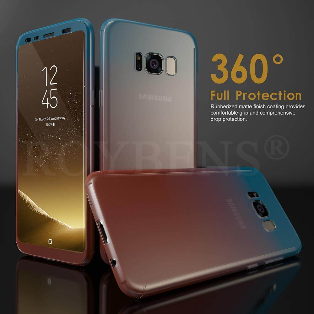 Roybens 360° Full Body Hybrid Matte Ultra Thin Hard Case Cover for Samsung Galaxy S8