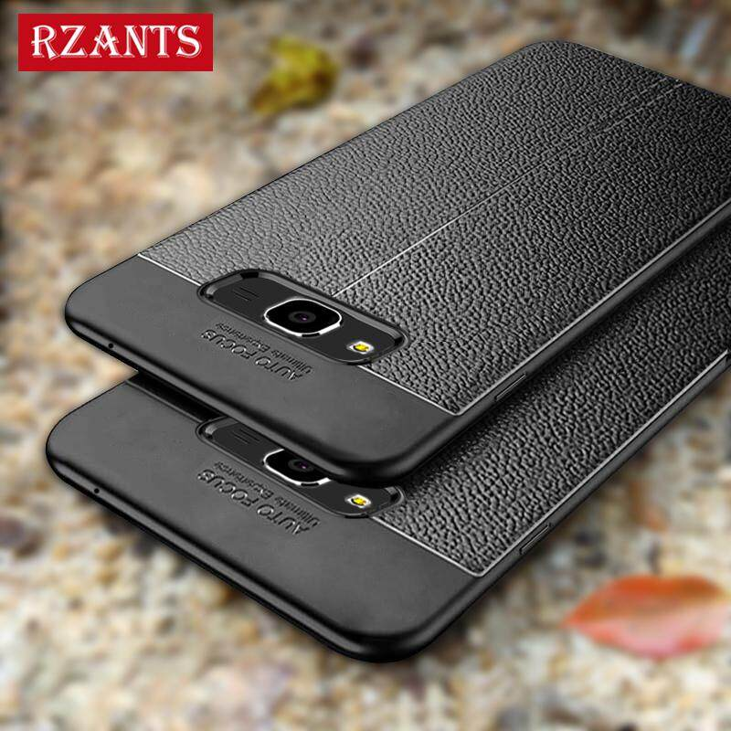Rzants For J2 Prime【Artificial leather】Ultra Thin Soft Case Cover For Galaxy J2