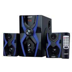 Salpido The Ultimate G3X Super Bass 2.1 High Quality Speaker with Bluetooth , FM Radio ,SD Slot , USB Slot Malaysia