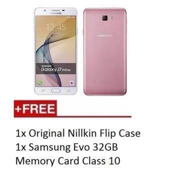 Samsung Galaxy J7 Prime(2016) 3GB+32GB Dual Sim LTE (Pink Gold)-Samsung Malaysia Warranty-Free Gift Worth 200