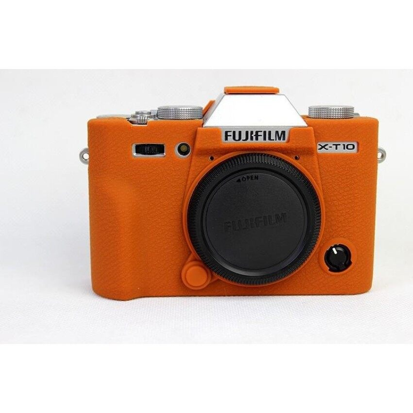 Soft Silicone Rubber Camera Protective Body Cover Case Skin ForFujifilm Fuji XT10 XT-10 Camera Bag   - intl