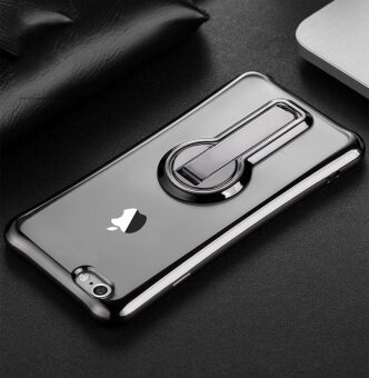 Soft Silicone TPU Shockproof Transparent Stand Phone Case For Apple iPhone 7 Plus 7Plus Phone Cover 5.5inch