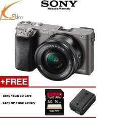 Sony Alpha A6000 Mirrorless Digital Camera With 16 50mm Lens GraphiteSONY