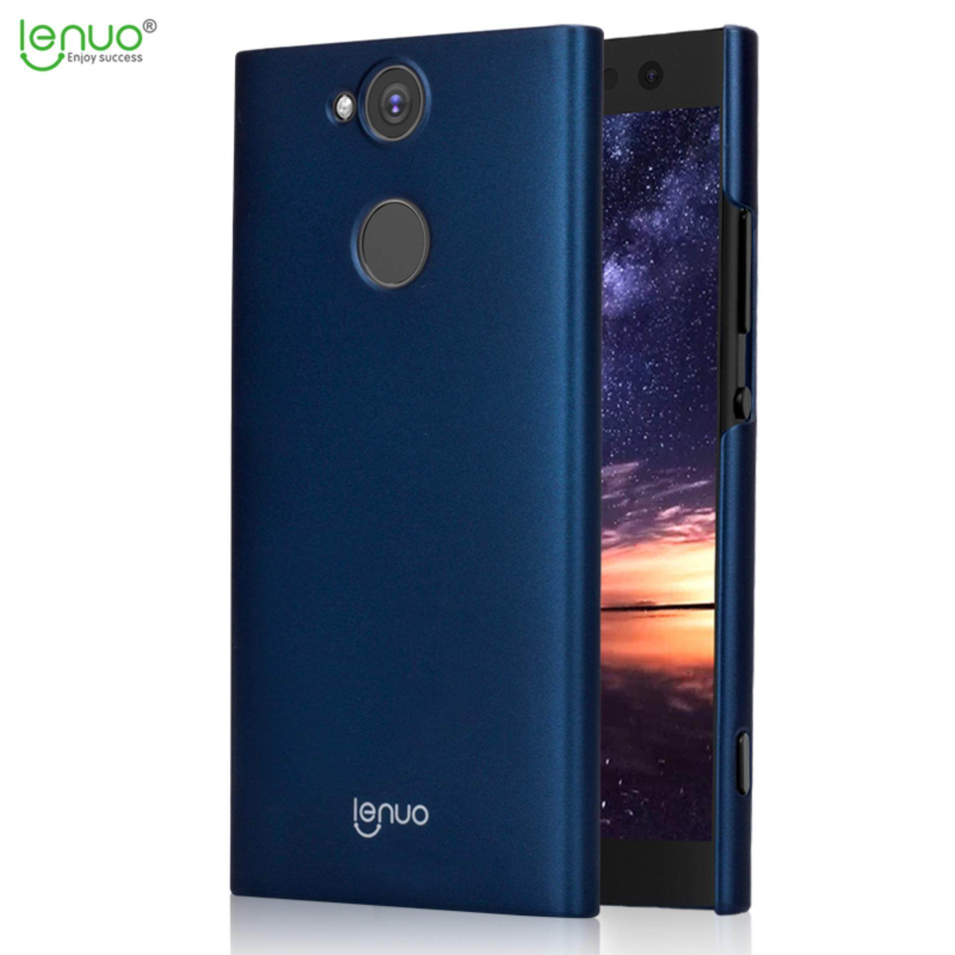 Sony Xperia XA2 Case, Lenuo Ledun PC Exact Fit Ultra Slim Thin Handy Shield Shell Hard Back Case Protective Cover for Sony Xperia XA2 - Blue - intl