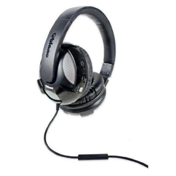 SYBA NC-2 UFO 2.1 Dual Driver Headphone dengan Built-In Amplifier dan Mikrofon IN-LINE, Model Hitam (OG-AUD63051)-Intl