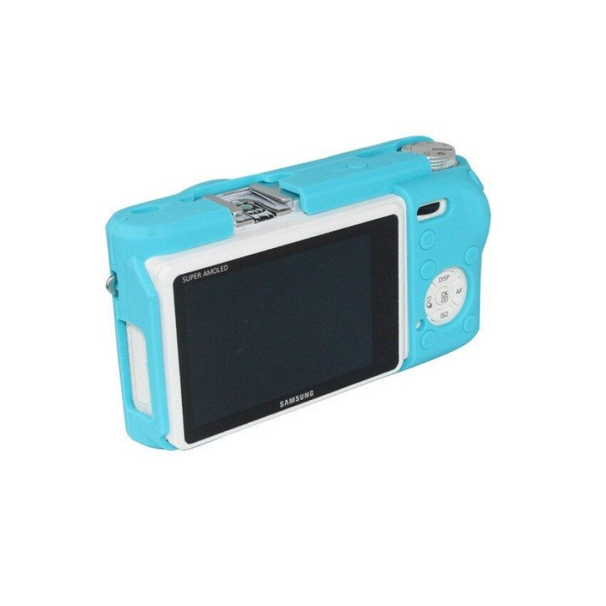 TPU Soft Camera Case Silicone Rubber Protective Body Cover ForSamsung NX500  - intl