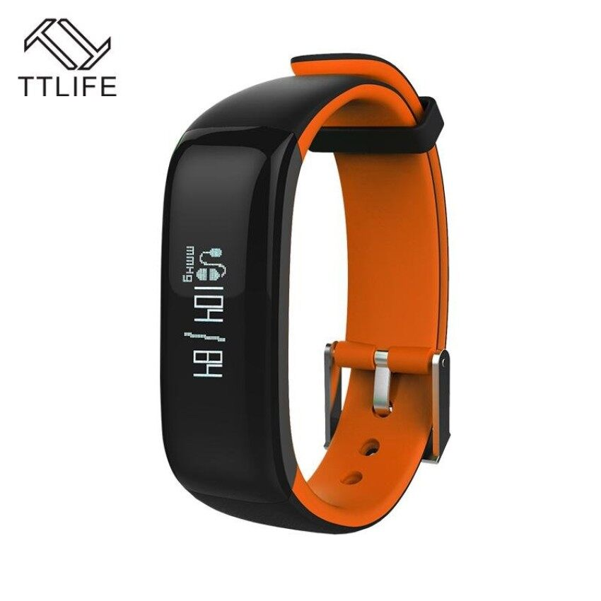 TTLIFE P1 Bluetooth Smartband Blood Pressure Monitor Heart RateMonitor Wristband Waterproof IP67 Smart Bracelet Wearable 0.86