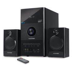 VINNFIER Champ202 BTRM 2.1 Speaker with Karaoke System, Bluetooth, FM Radio, USB and SD Card Slot Malaysia