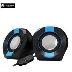 Vinnfier Icon 202 2.0 USB Powered Speaker (Black/Blue) Malaysia