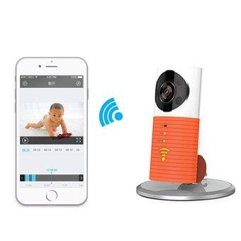 wifi home security camera baby monitor smart phone audio night visionorange lazada malaysia. Black Bedroom Furniture Sets. Home Design Ideas